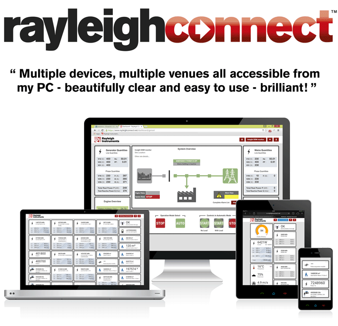 rayleighconnect - the remote monitoring and control solution